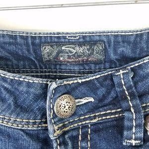 Silver Suki medium wash boot cut jeans size 29